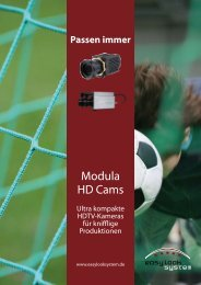 Modula HD Cams von easylook system. Revolutionäre ultra - Videor