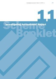 Investigating Accountants' Report - OneSteel