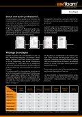 20 db(A) - ewifoam-Schaumstoffe & Co,Trittschalldämmung ... - Seite 5