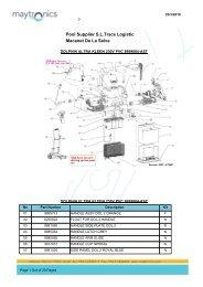Macanet De La Selva Pool Supplier SLTrace Logistic - Piscine Atlantis