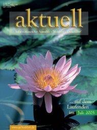 Tag der offenen Tür am 20. August 2005 - Kurt Viebranz Verlag
