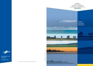 Thermovit (pdf) - Vetrotech Saint-Gobain