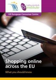 Shopping online across the EU Leaflet
