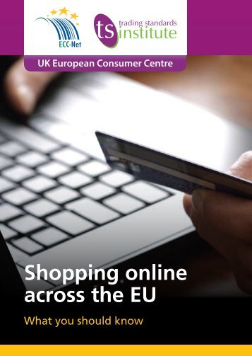 Shopping online across the EU Leaflet