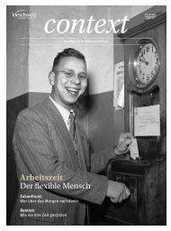 Context Heft 10 (PDF, 5531 kb) - KV  Schweiz