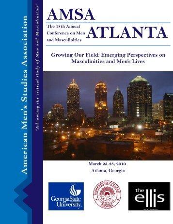 2010 AMSA Conference Program - American Men's Studies ...