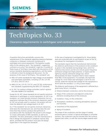 TechTopics No. 33 - Siemens