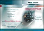 Emergency Signaling and Control Systems for Correctional Facilities