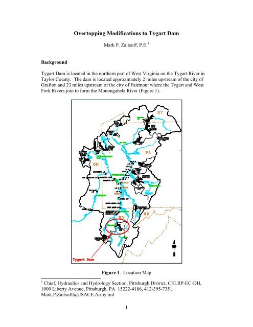 Overtopping Modifications to Tygart Dam