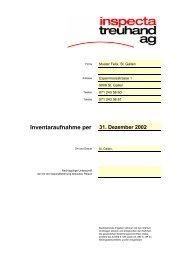 Inventar für Jahresabschluss - Download (PDF) - Inspecta Treuhand ...