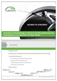 Examples of Technology to Improve Quality Beginning from ... - EOQ