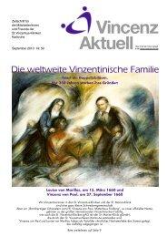 Vincenz Aktuell - St. Vincentius-Kliniken gAG
