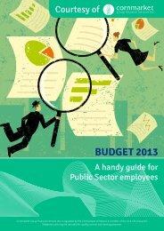 Budget 2013 - PNA