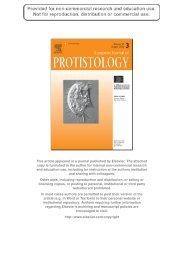 Europ. J. Protistol. - Ocean University of China