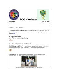 ECG Newsletter - The Emirates Culinary Guild