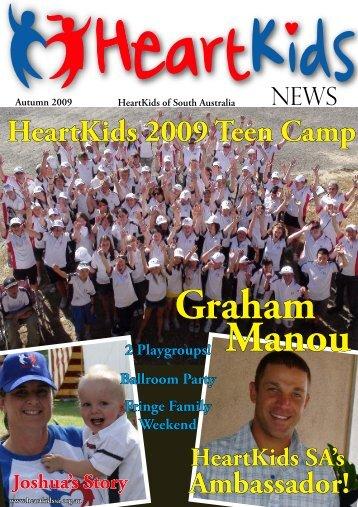 SA Newsletter Autumn 2009 - HeartKids SA