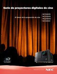 Serie de proyectores digitales de cine - Kelonik