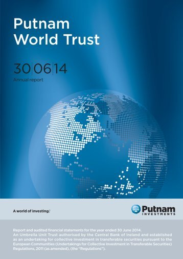 English - World Trust Annual Report - Putnam Investments