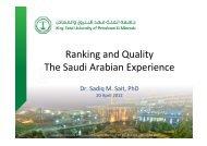 Dr. Sadiq Mohammed Sait - International Observatory on Academic ...