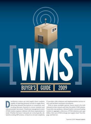 WMs - Inbound Logistics