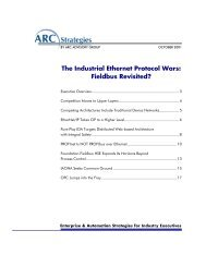 The Industrial Ethernet Protocol Wars: Fieldbus Revisited?