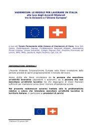 VADEMECUM: LE REGOLE PER LAVORARE IN ITALIA alla luce ...