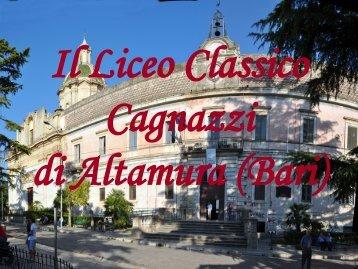 scarica la presentazione dell'indirizzo Classico - Liceo Statale ...