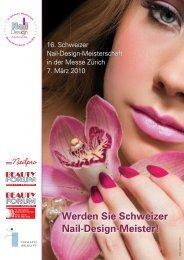 16. Schweizer Nail-Design-Meisterschaft in der Messe Zürich 7 ...