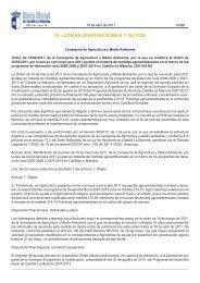 Nueva incorporación a la medida M 214.1 Agrosistemas extensivos ...