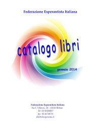 catalogo generale - Federazione Esperantista Italiana