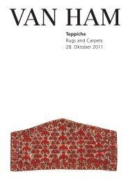 Teppiche - VAN HAM Kunstauktionen