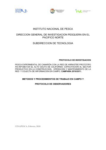 1a.Proyecto RS-INP AGC - Inapesca