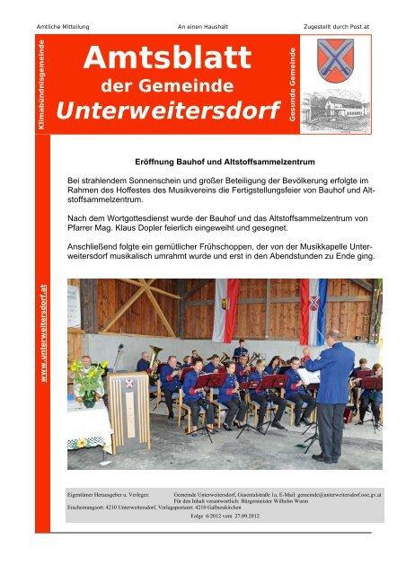 Unterweitersdorf kostenlose partnervermittlung Sankt florian