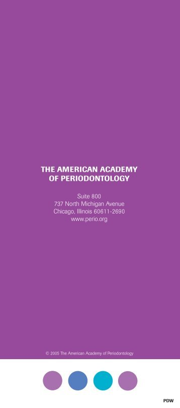 PERIODON - American Academy of Periodontology