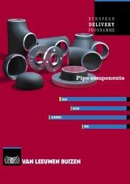 Pipe components to DIN / EN standards - Van Leeuwen