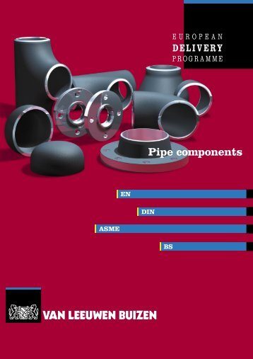 Pipe components to DIN / EN standards - Van Leeuwen