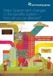 Welfare reform - How will you be affected.pdf - One Housing Group