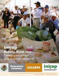 Reporte Anual 2011 Ciencia y tecnología para el campo mexicano
