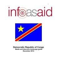 Democratic Republic of Congo (DRC) - Infoasaid