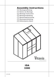 IDA 3300 Assembly instructions - Bony