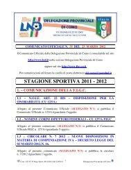 COMUNICATO n.35 del 23/03/2012 - FIGC