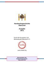 KOCH - Verein für Geschichte und Heimatkunde Oberursel eV