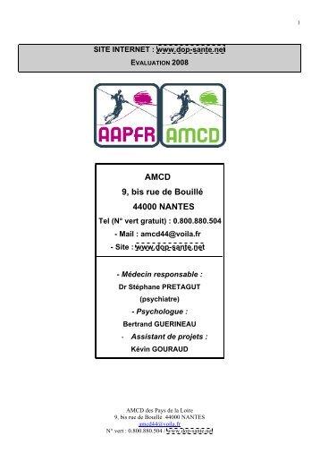 AMCD 9, bis rue de Bouillé 44000 NANTES - Poisson Bouge 5e203c84fc66