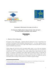 Background note Climate Change Final Version ... - Sign In - Europa
