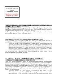 scarica le brevia num° 40 del 2011 - PERELLIERCOLINI.it