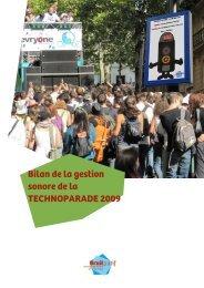 Bilan de la gestion sonore de la Techno Parade 2009 - Bruitparif