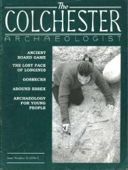 The Colchester Archaeologist 1996-7 - Colchester Archaeological ...