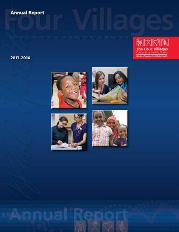 Our Annual Report - The Four Villages Community Health Centre
