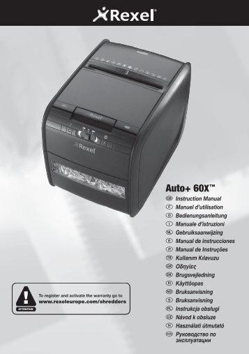 1436 Auto+60X Shredder Manual.indd - Net