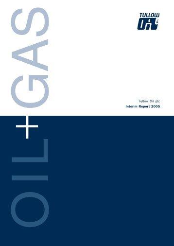 Download the Interim Report PDF - Tullow Oil plc